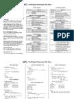 Regexp Tip Sheet