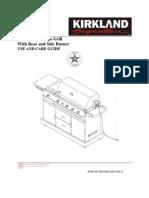 Kirkland BBQ Manual