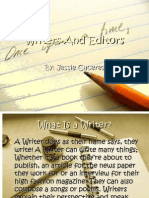 Writers, Editors and Journalists 2