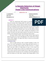 Powerline Communication