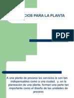 Servicios Para La Planta