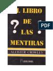 El libro de las mentiras (333) Aliester Crowley