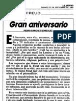 Sánchez González, Pedro.-. Gran aniversario..