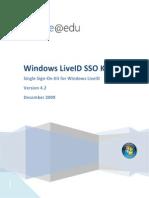 Windows LiveID SSO Kit_v4 2(Documentação Oficial)