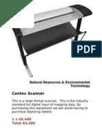 Contex Scanner