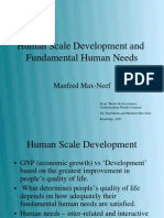 Fundamental Wheel of Human Needs