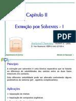 02 Extracao Por Solventes I