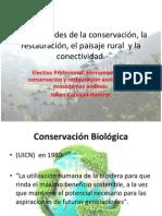 CLASE 1.Generalidades de la conservación, la restauración