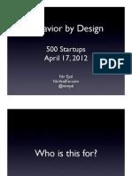 500 Startups Preso
