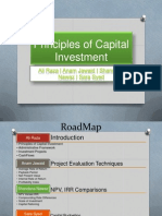 Principles of Capital Investment (3)