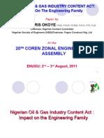 COREN Assembly by Engr. Chris Okoye (v. 03)