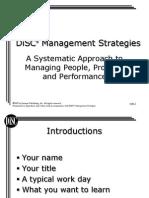 DiSC Management Strategies BW