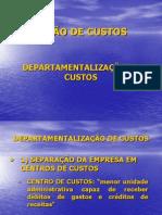 Apresentação de Departamentalização