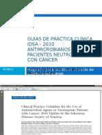 Guías Neutropenia febril - IDSA