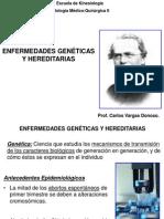 Clase Enfermedades Genéticas y Hereditarias