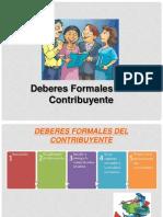 1.- Deberes Formales y Del Contribuyente Tena
