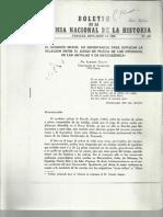 Boletin de La Academia Nacional de La Historia ( Abril- Junio 1