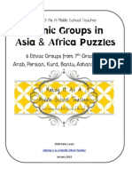 Ethnic Groups in Asia & Africa Puzzles