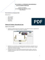 Informe El Efecto Fotoelectrico Con El Simulador PhET