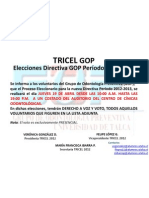 Elección Directiva GOP