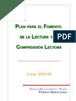 Plan Para El Fomento de La Lectura