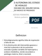 ASFIXIA FISIOPATOLOGIA