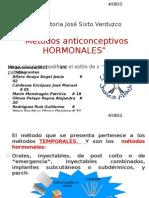 metodos anticonceptivos hormonales