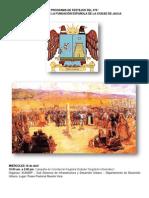 Programa del 478 Aniversario de Fundación Española de Jauja