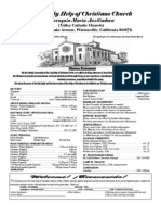 Parish Bulletin 04-22-12