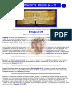 Puntos Sobresalientes de Biblia- Ezequiel 24 a 27