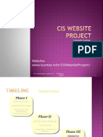 CIS Website Project