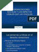 Las Organizaciones Sociales y Aspectos Legales