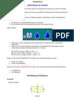 Semelhança e congruencia entre triangulos