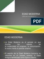 EDAD MODERNA