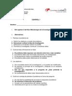 control 1 metodología de la investigacion