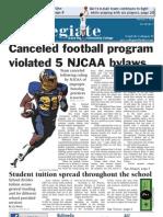 Canceled football program violated 5 NJCAA bylaws - Austin Metz (MCCPA 2nd Place)