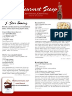 the gourmet scoop - february 2012