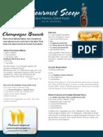 the gourmet scoop - january 2012