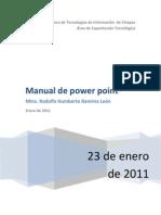 Manual de Power Point 2011