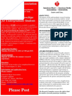 Undergraduate Student Fellowship