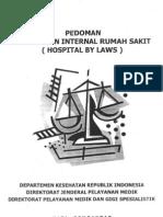 Pedoman Hospital Bylaws