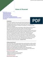 Islam & Ekonomi Inter Islamic Net)