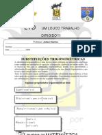AULA N01 _Substituicoes Trigonometric As