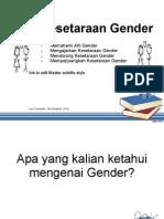 BAB 6_Kesetaraan Gender