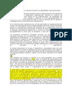 CLIMA LABORAL EN LA PRODUCTIVIDAD Y EL DESEMPEÑO ORGANIZACIONAL