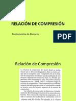 4 Relación de compresión