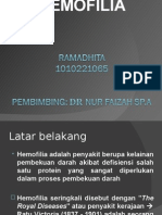Ppt Hemofilia