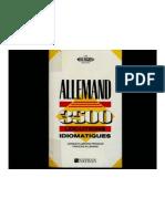 DICTIONNAIRE FRANCAIS-ALLEMAND