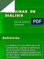 Clase  V MÁQUINAS  DE DIÁLISIS