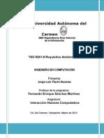 ISO Requisitos Ambientales Tarea 1, Alumno Tlachi Guzmán